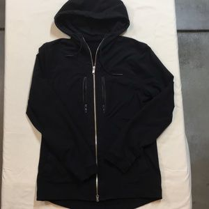 Lululemon Black zip up jacket Sz M
